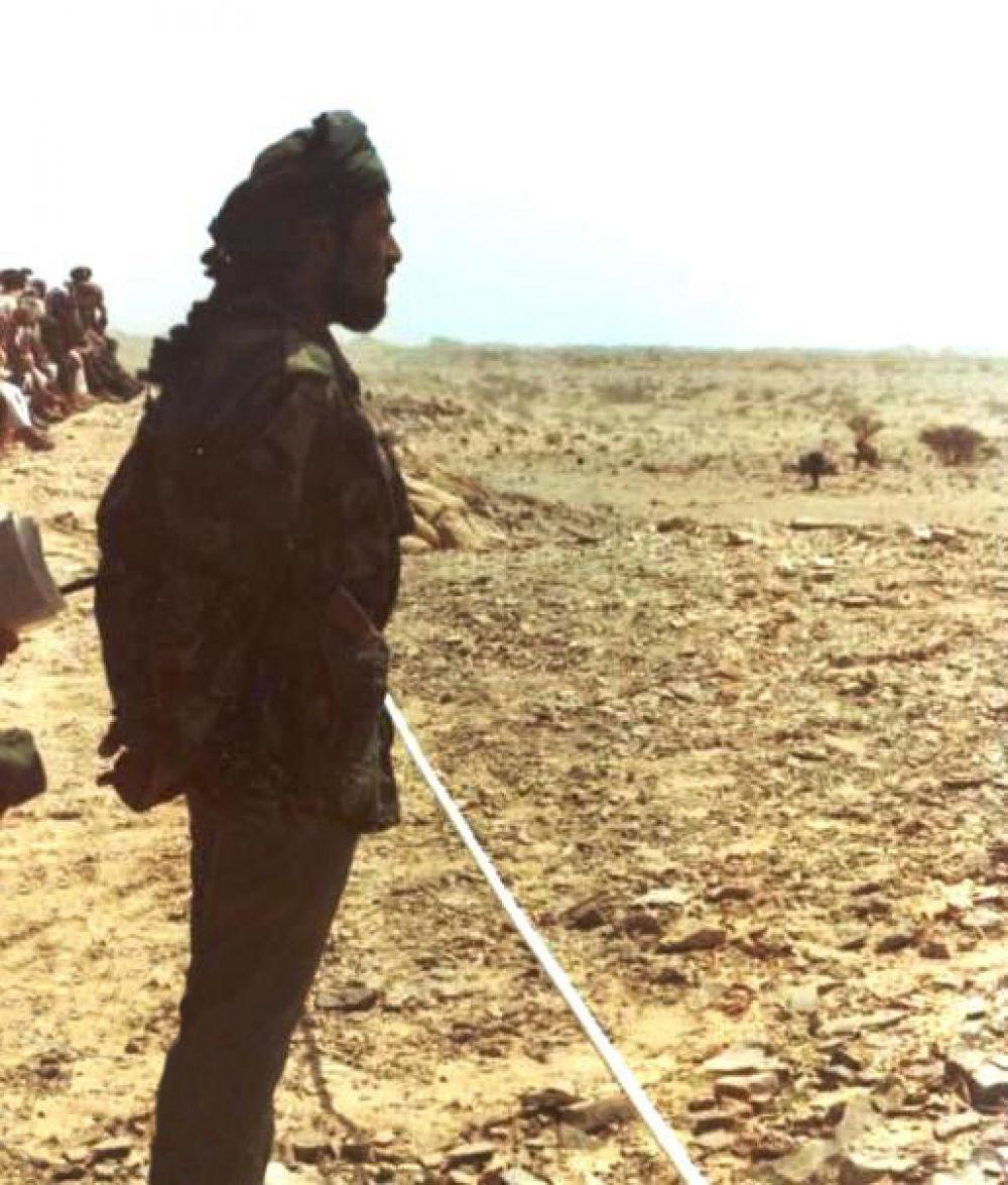 Султан Омана Кабус бен Саид в 1980 году.