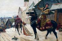 Михаил Авилов – «Опричники в Новгороде». Первая треть XX в.