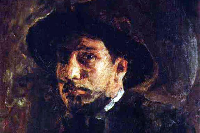 Валентин Серов, Автопортрет, 1885 г.
