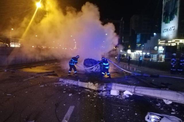 У столиці сталася ДТП: один загиблий, четверо поранених
