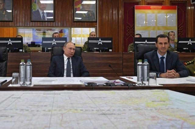 Посовету В. Путина : Президент Сирии готов принять усебя президента США