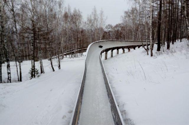Победители - спортсмены краевой Академии зимних видов спорта.