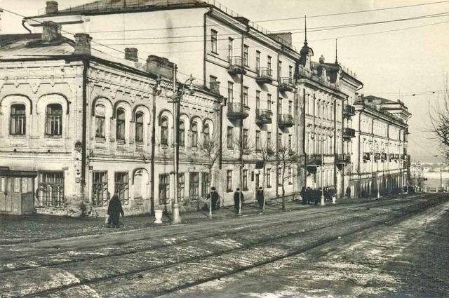 Историческое здание, построенное в 1910 году, находится в аварийном состоянии и нуждается в ремонте.