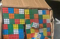 В Одессе таможенники изъяли почти восемь тысяч контрафактных кубиков Рубика