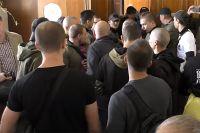 Члены группировки С14 избили адвоката прямо в здании суда.