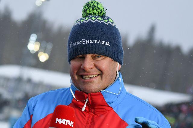 Телекомментатор Дмитрий Губерниев.