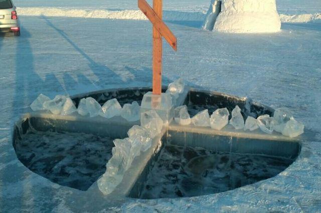 На Крещение в Тюменском районе оборудуют восемь мест для купания
