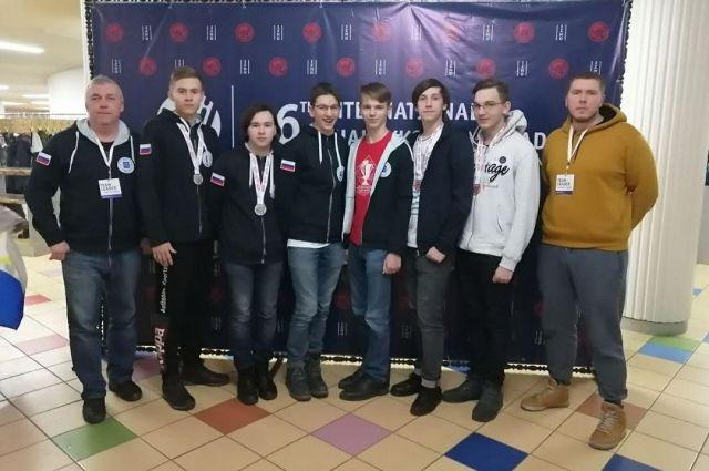 Тюменские школьники привезли комплект медалей с Жаутыковской олимпиады