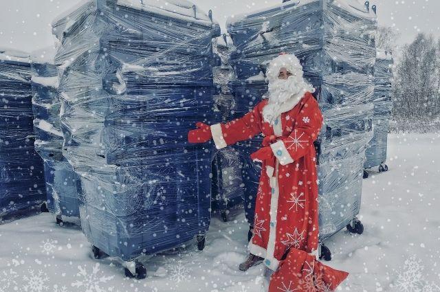 В Тюмени установят новые В Тюмени установят новые контейнеры для мусора