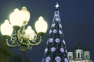 Новогодний декор в Калининграде начнут снимать 20 января