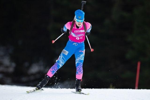 У Алены Моховой уже две золотые медали, завоеванные на юношеской Олимпиаде.