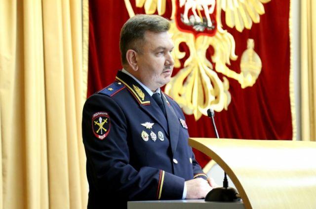 Главу УМВД Тюменской области представили личному составу