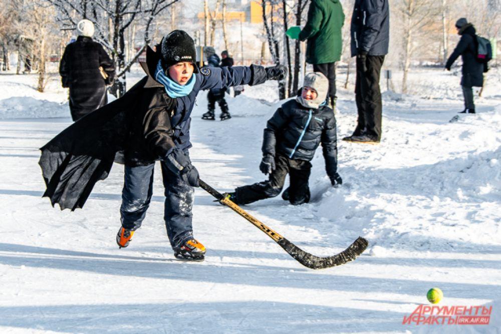 А вы когда-нибудь видели вампира, играющего в хоккей?