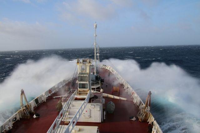 Исследовательское судно Балтийского флота вышло из порта Рио-де-Жанейро