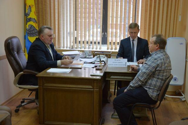Первый претендент на должность главы Оренбурга подал документы.