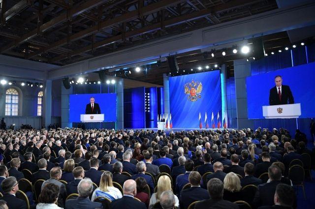 Президент много времени уделил не только внешней политике, но и внутренней.