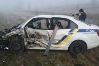 В Херсонской области действия полицейского стали причиной ДТП