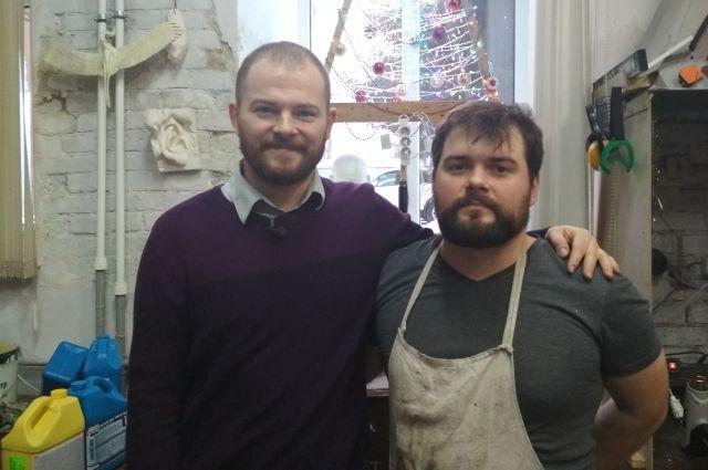 Егор и Михаил Минины.