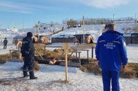 В Тюмени возле купелей будут дежурить бригады скорой помощи