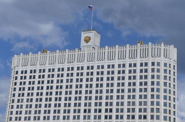 Дом Правительства в Москве.
