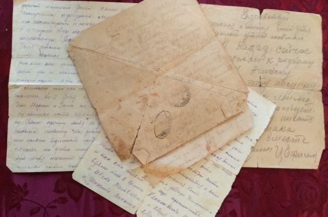 Письма хранят как самую ценную семейную реликвию.