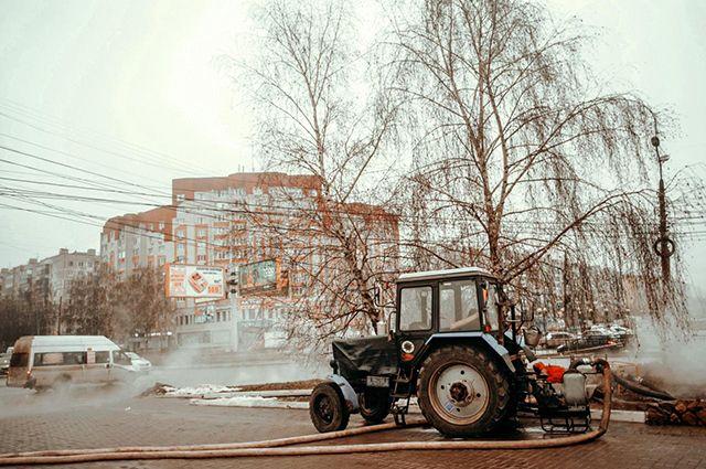 Полный износ. Курск стал лидером Черноземья по числу коммунальных аварий