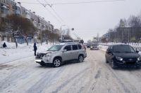 ДТП произошло на улице Юбилейная в Березниках 16 января.