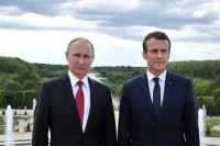 Конфликт на Донбассе не помеха для сближения Франции и РФ, - Макрон