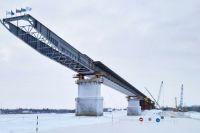 Начался следующий этап возведения моста через Пур