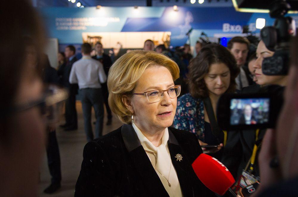 Вероника Скворцова является министром здравоохранения Российской Федерации.