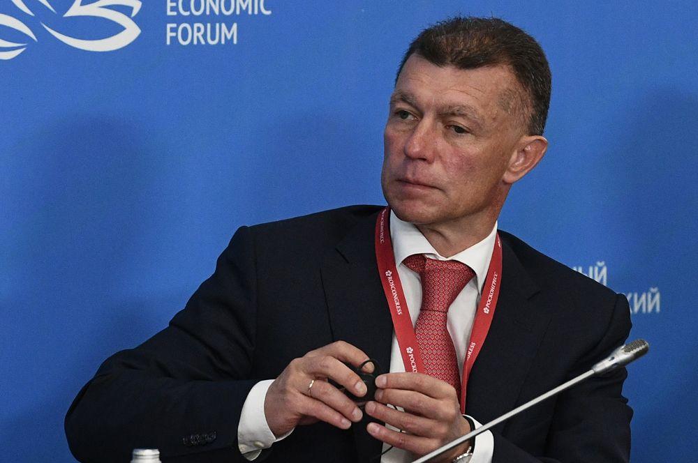 Министр труда и социальной защиты Максим Топилин.