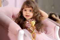 Двухлетняя Ксюша победила во всероссийском конкурсе красоты