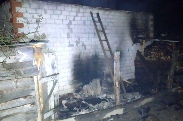 В Черниговской области произошел пожар в дачном доме: есть жертвы