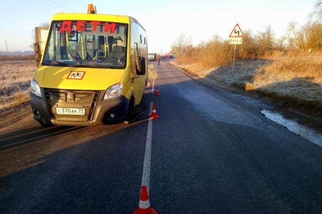 ДТП со школьным автобусом произошло в Калининградской области
