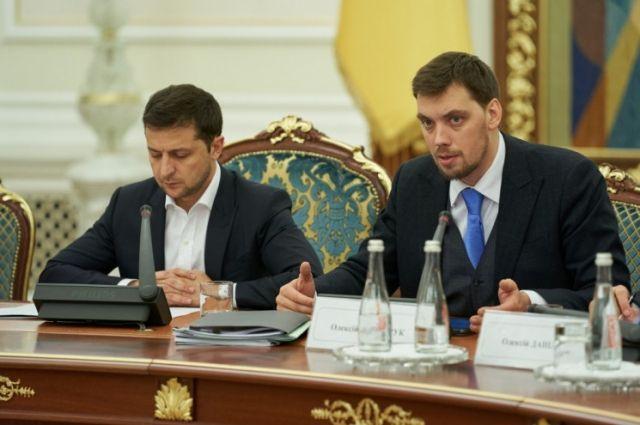 Зеленский оставил Гончарука премьер-министром