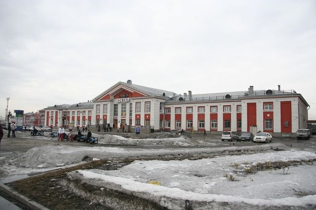 Барнаульский железнодорожный вокзал
