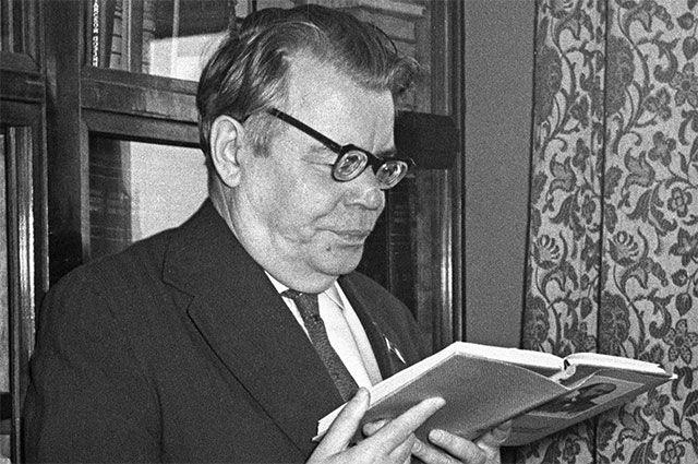 Поэт Михаил Исаковский. 1970 год.