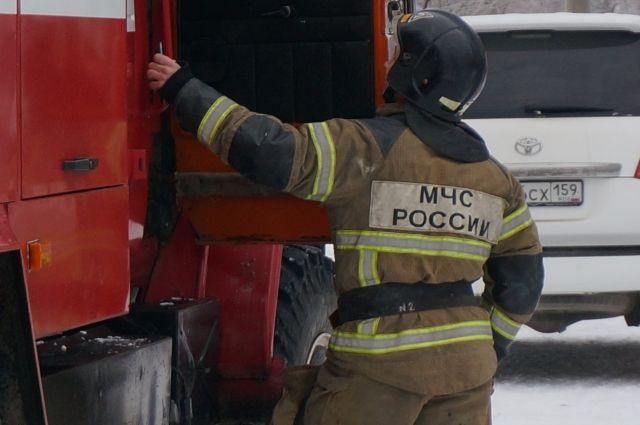 Пожарным удалось быстро потушить возгорание.