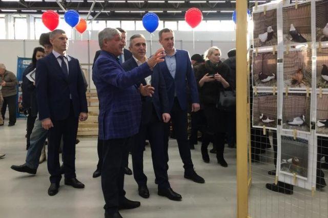 Юрий Неёлов озвучил идею создания областного музея голубеводства