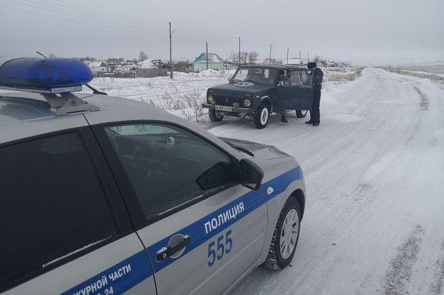 В Оренбургской области сотрудники ГИБДД за два дня поймали двух пьяных водителей