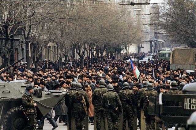 «Черный январь». История кровавого «Майдана» в Баку