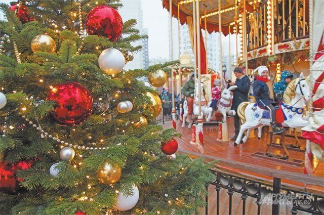 Сколько туристов посетило Москву за новогодние каникулы?
