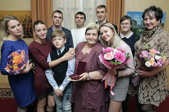 Семья Хромых - рекордсмены России по количеству детей.