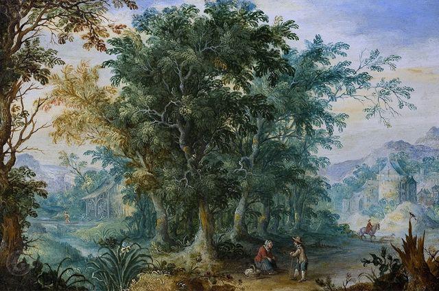«Лесной пейзаж» Яна Брейгеля Старшего.