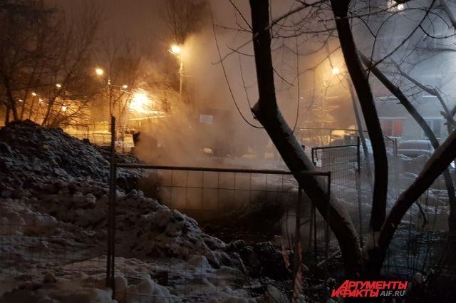 В Индустриальном районе завершили все необходимые работы по устранению аварии на теплопроводе.