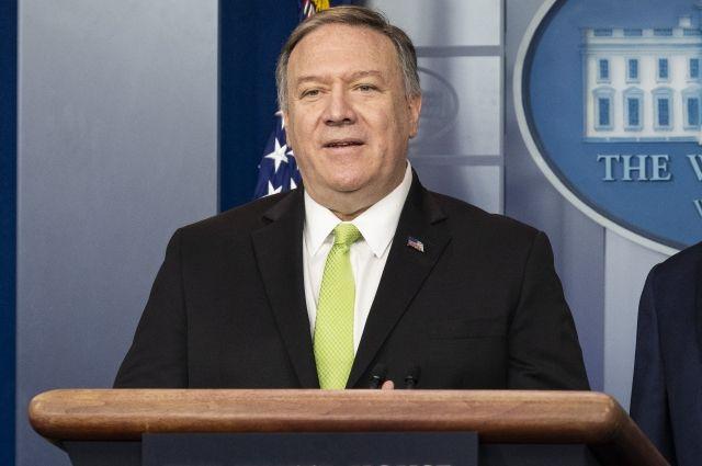 Помпео рассказал о проекте США по смене власти в Венесуэле