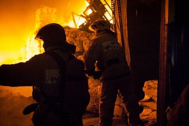 Пожар в поселке Причулымский Томской области полностью ликвидирован