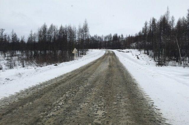 Насыпи дороги укреплены биоматом