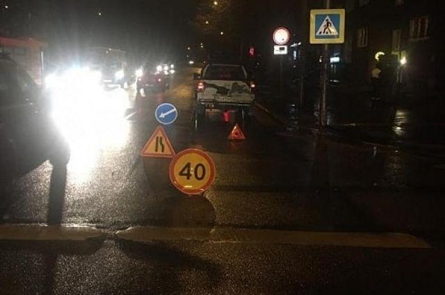 В ДТП на улице Киевской пострадал 71-летний пешеход