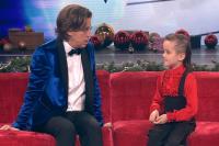 Миша Георгиев с Максимом Галкиным